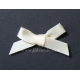 Satin Bows - 6mm - Cream