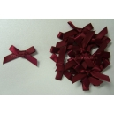 Satin Bows - 6mm - Wine