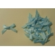Satin Bows - 6mm - Baby Blue