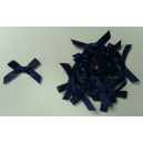Satin Bows - 6mm - Navy