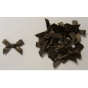 Satin Bows - 6mm - Chocolate