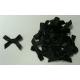 Satin Bows - 6mm - Black
