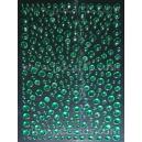 Green Rhinestones - Mixed Sizes