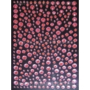 Baby Pink Rhinestones - Mixed Sizes