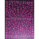 Hot Pink Rhinestones - Mixed Sizes