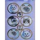 Feline Friends - Watercolour Cats
