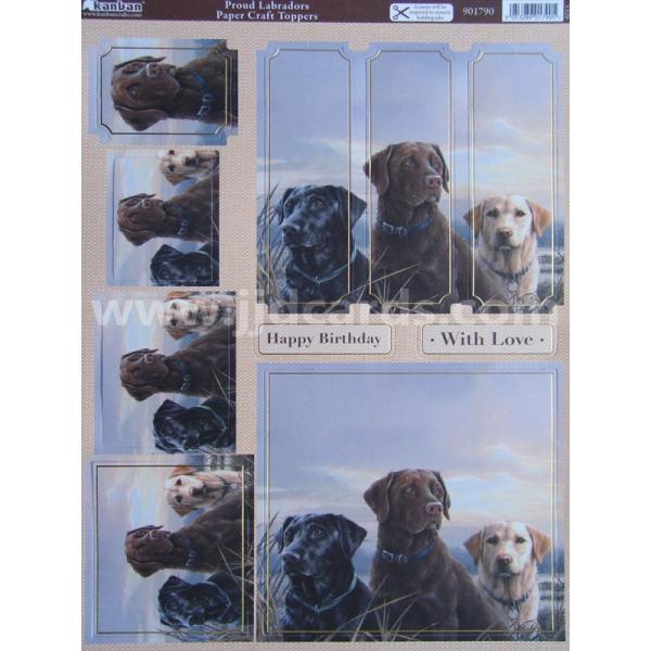 Kanban Its A Dogs Life Proud Labradors
