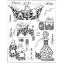 Acrylic Stamps - Mocha Boudoir