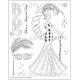 Acrylic Stamps - Yvette Jordan - Magical - STAMP9036