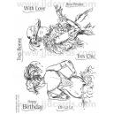 Acrylic Stamps - Moulin Divas