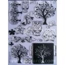 Acrylic Stamps - Autumn Garden