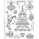 Acrylic Stamps - Vintage Christmas