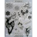 Acrylic Stamps - Reindeer