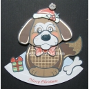 Kanban Christmas Wobblers - Dexter the Dog