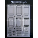 Acrylic Stamps - Tickets