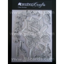 Acrylic Stamps - Rose & Ivy