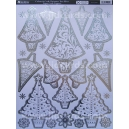 Colour & Craft Christmas Tree - Silver