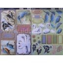Loving Birds (Blank) - 2 Sheet Pack
