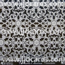 Glittered Acetate - Textile Collection - Victoriana - White