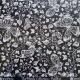 Glittered Acetate - Textile Collection - Papillon - White