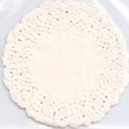 Paper Doily - Ivory Circle
