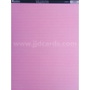 Background Card - Pink Candy Stripe