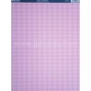 Background Card - Pink Harlequin