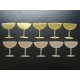 Gold & Silver Cocktail Glasses