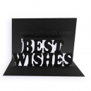 Pop Up Card - Best Wishes