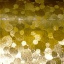 Textured Metallic - Bubbles - Gold
