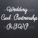 Wedding Etiquette 2 Word Set