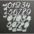 BRITANNIA DIES - NUMBER SET- 006