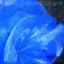 Organza Circles - Royal Blue