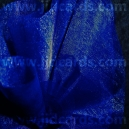 Organza Circles - Navy Blue