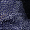 Luxury Mesh - Velvet Spots - Navy