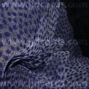 Luxury Mesh - Velvet Spots - Navy