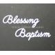 BRITANNIA DIES - BLESSING BAPTISM WORD SET - 033