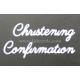 BRITANNIA DIES - CHRISTENING CONFIRMATION WORD SET - 034