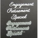 BRITANNIA DIES - ENGAGEMENT RETIREMENT SPECIAL - WORD SET - 009