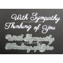BRITANNIA DIES - THINKING OF YOU WITH SYMPATHY - 012