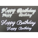 Happy Birthday Word Set
