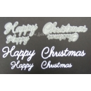 Happy Christmas Word Set 001 & 003
