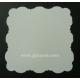 Dove White - Adorable Scorable - 5 x 5 Square Cloud Shaped Cards & Envelopes - CB1022
