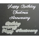 BRITANNIA DIES - HAPPY BIRTHDAY CHRISTMAS ANNIVERSARY MULTIBUY - 041 & 095