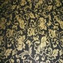 Glittered Acetate - Textile Collection - Ornate Flourish - Gold