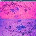 Printed Acetate - Pimpernel Magenta