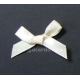 Satin Bows - 6mm - Ivory