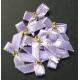 Beaded Bows - Iris/Gold