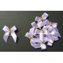 Beaded Bows - Iris/Gold
