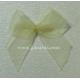 Organza Bows - Cream